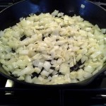 Before putting in the crock pot, saute the onions and garlic