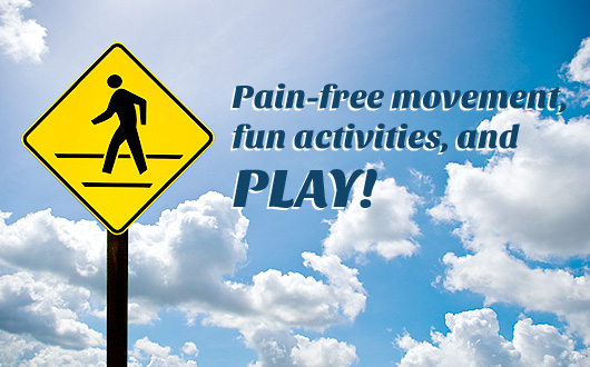 Forget exercise, let's play!