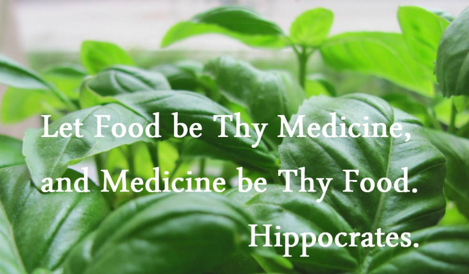 Somewhere along the way we got away from the idea of food as medicine. It's time to get back to it.