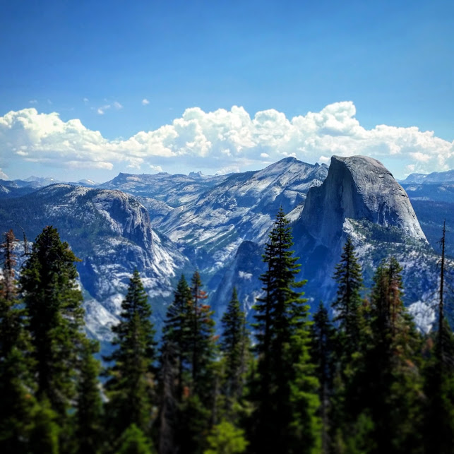 Half Dome at Yosemite. You feel this place, you don't just see it