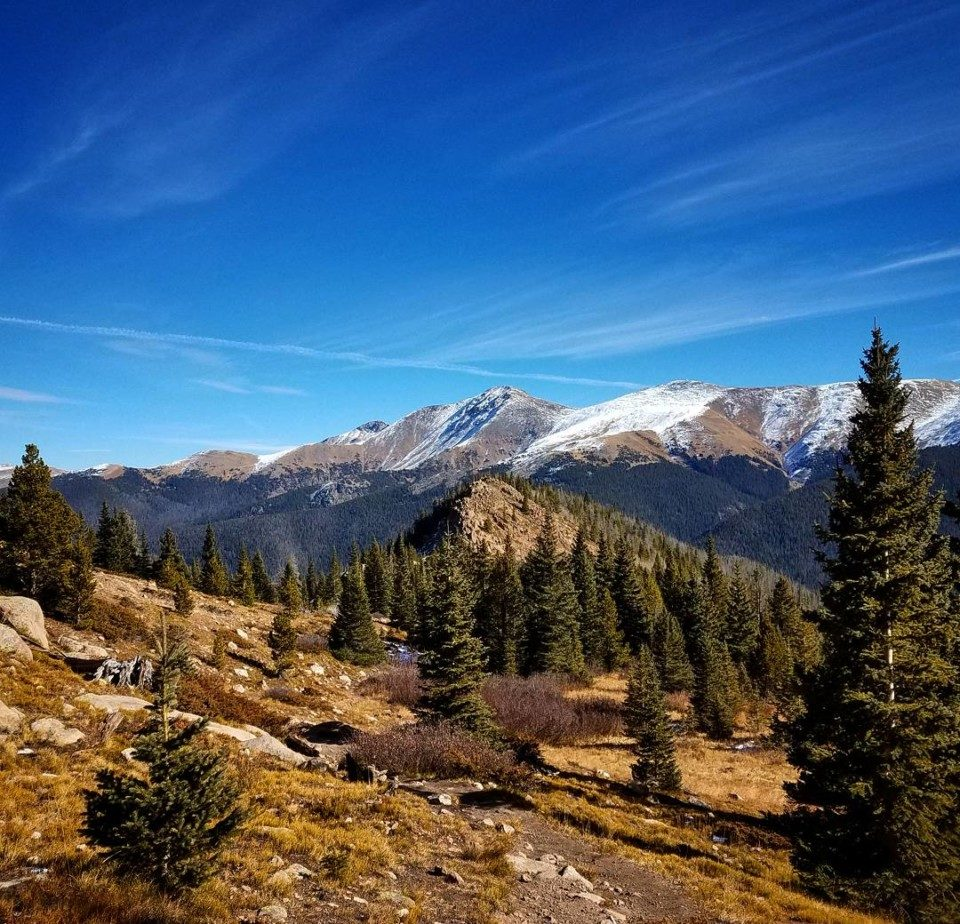 My goal - hiking to high places