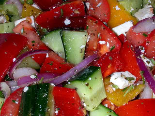 Greek Salad Recipe from Mark's Daily Apple